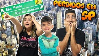 CARIOCAS PERDIDOS EM SÃO PAULO. E AGORA? - VIAGEM DE CARRO
