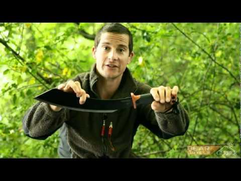 Bear Grylls Gerber, knives, tools, kit survival, Ultimate Knife, parang, scout
