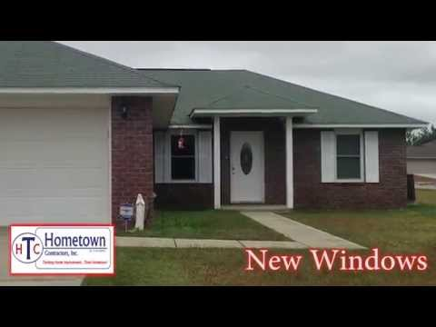 Energy Saving Vinyl Windows Installed in Milton, Florida