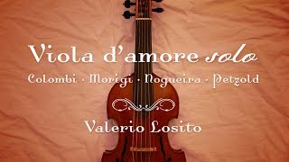 Viola d'amore solo