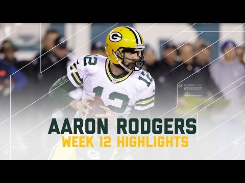 Aaron Rodgers Leads Packers with 313 Yards & 2 TDs (Week 12 Highlights) | Eagles vs. Packers | NFL