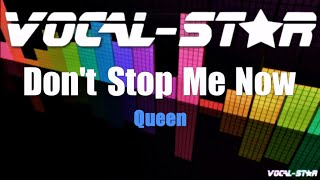 Queen - Don't Stop Me Now (Karaoke Version) with Lyrics HD Vocal-Star Karaoke