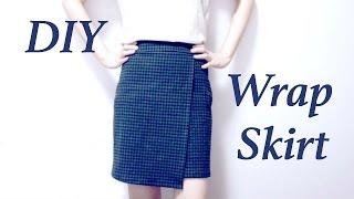 DIY Wrap Skirt // ラップスカートの作り方ㅣmadebyaya