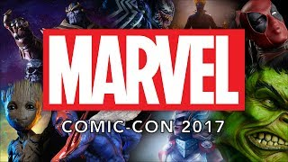 Marvel at the Sideshow Booth - SDCC 2017