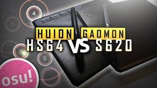 Tablet Comparison: Huion HS64 vs Gaomon S620