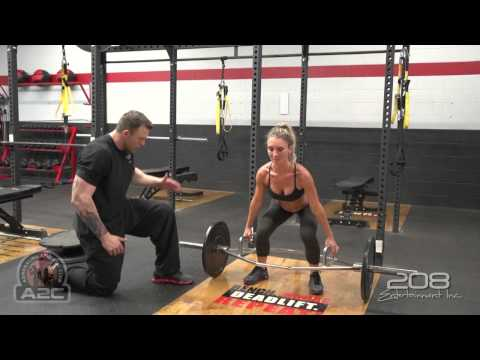 Trap Bar Deadlifts (How to)