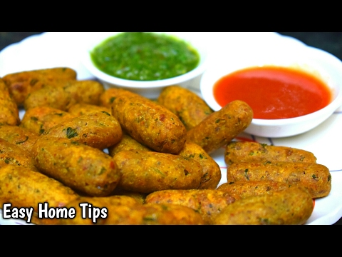सिर्फ़ दो चीजों से बनाये सेहतमन्द snacks | breakfast recipes indian | evening snacks indian recipes