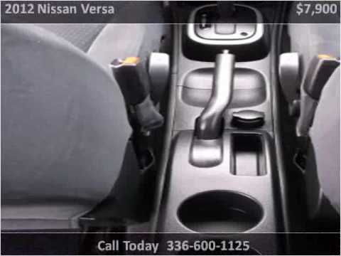 2012 nissan versa used cars high point nc youtube. Black Bedroom Furniture Sets. Home Design Ideas