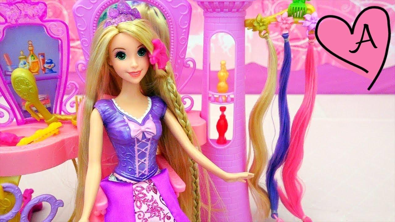 saln de belleza para peinar a rapunzel con ideas para peinados para muecas