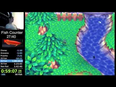 Animal Crossing Gamecube: Golden Rod Speedrun 1:28:05 [Old WR]