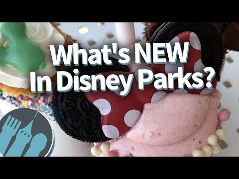 What's NEW In Disney Parks This Week?
