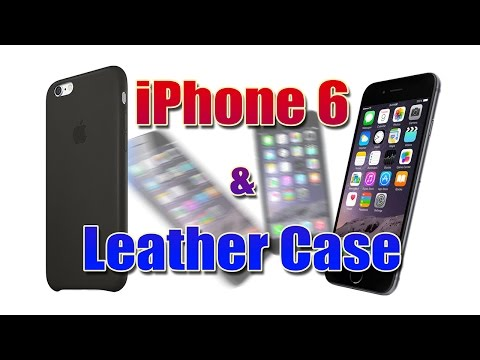 iPhone 6 & Leather Case - Unboxing  ((PT))