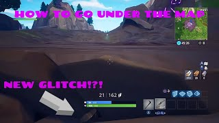How to go under the corrupted areas - Fortnite Battle Royale Glitch (Win Every Time)