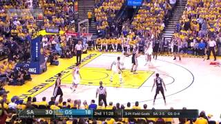 SA Antonio Spurs vs GS Warriors   Full Game Highlights  Game 1  May 14 2017  NBAPlayoffs