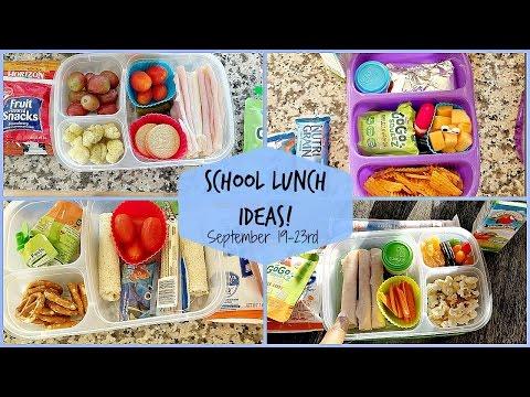 School Lunch Ideas! Back To School Ep.5