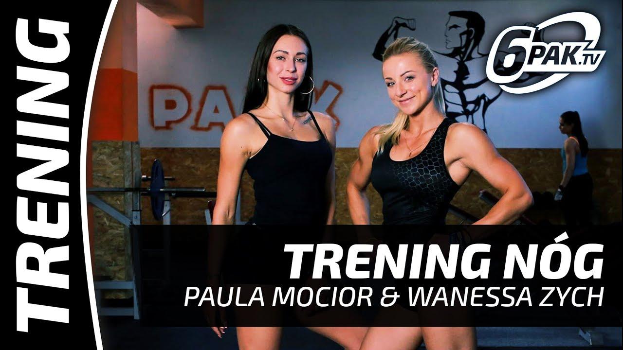 SEXI PUPA I PALĄCE NOGI – TRENING Paula Mocior & Wanessa Zych