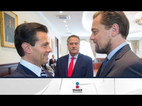 Leonardo DiCaprio visita a Peña Nieto en Los Pinos | Noticias con Ciro Gómez Leyva