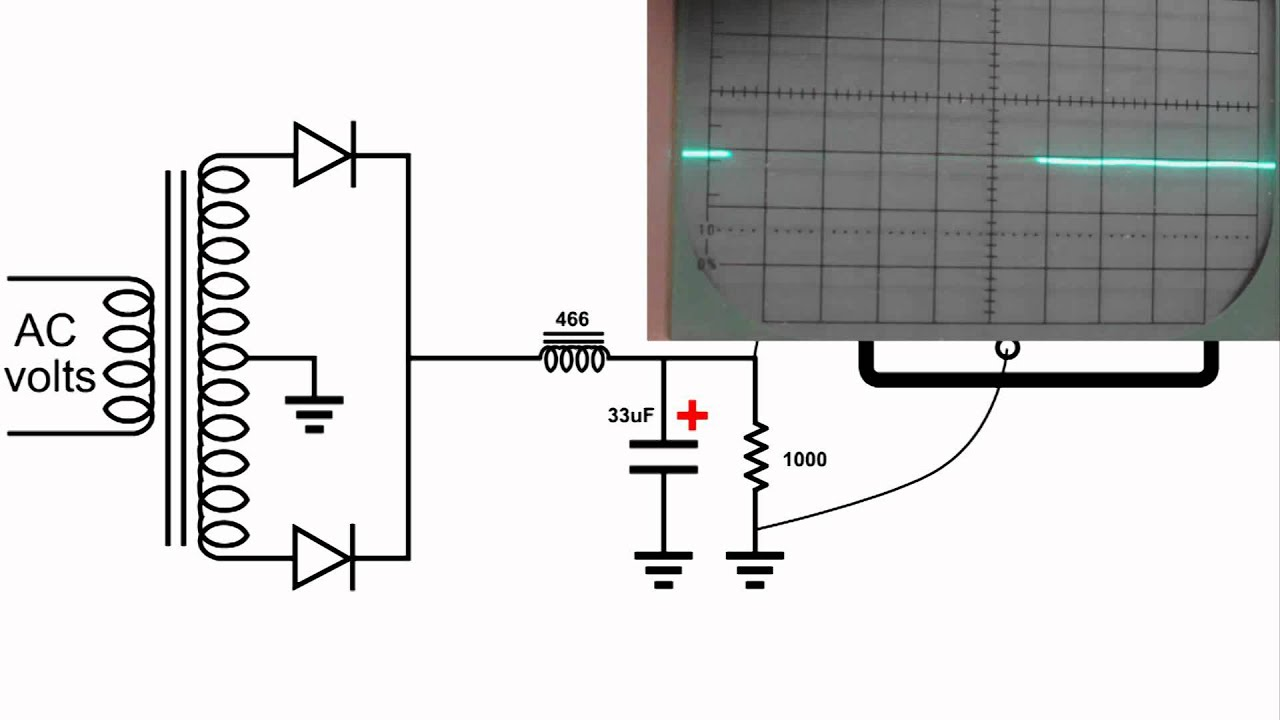 Fine choke symbol gallery electrical and wiring diagram ideas pi filter resistor choke oscilloscope demo youtube biocorpaavc