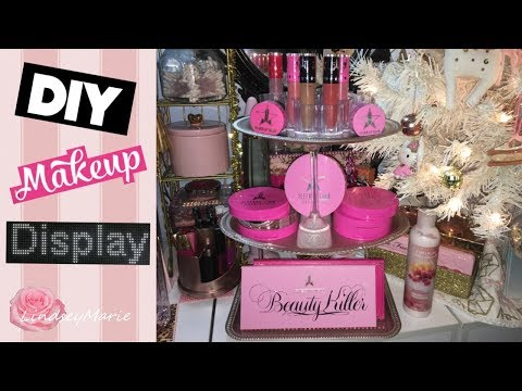 DOLLAR TREE DIY | MAKEUP DISPLAY | JEFFREE STAR COSMETICS