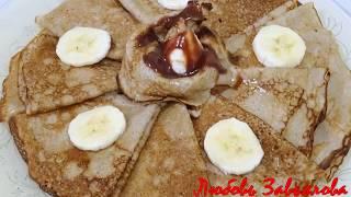 Блины банановые-вкусные и нежные/Banana pancakes