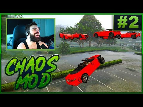 GTA V Chaos Mod! #2 - Everything Is Possible (Random Effect Every 30 Seconds)