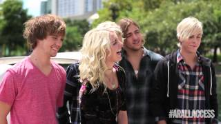 r5 arallaccess photoshoot behind the scenes