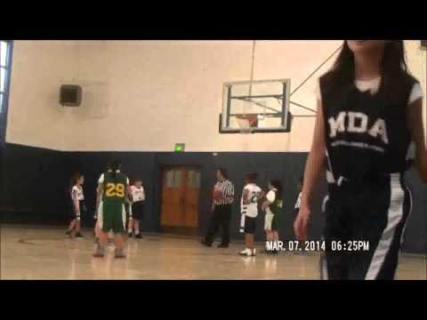 Mission Dolores Academy versus Saint Peter SF 03072014