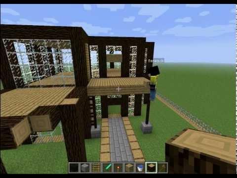 Minecraft construction d'une ville de A a Z Episode 2