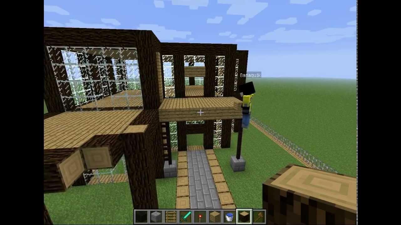 minecraft construction d 39 une ville de a a z episode 2 youtube. Black Bedroom Furniture Sets. Home Design Ideas