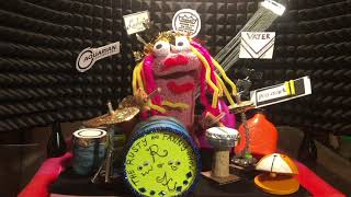 Fanny Drum Lesson - The Rusty and Fanny Show!