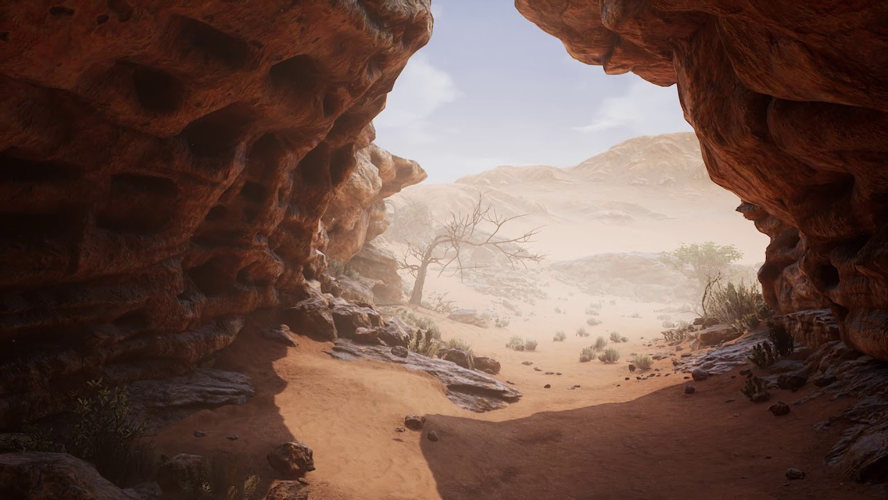 Libyan Desert  Unreal Engine 4