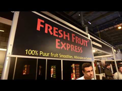 Video Fresh Fruit Express en Veggie Express Smoothie Concept