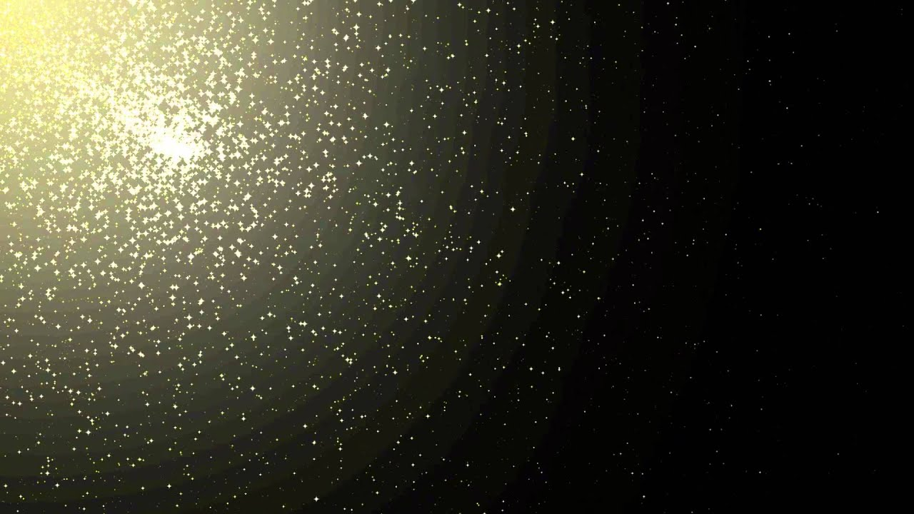 particles animation free footage hd yellow stars across
