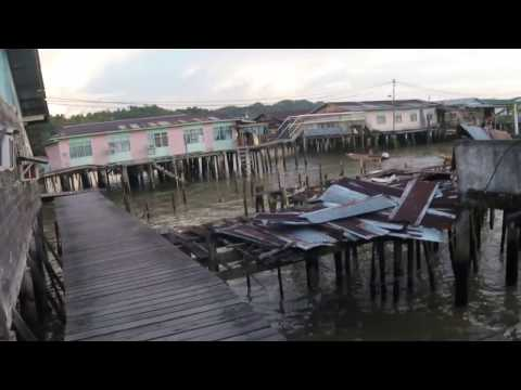 Walking Tour of Kampong Ayer Water Villages in Brunei's Capital (Part 3)
