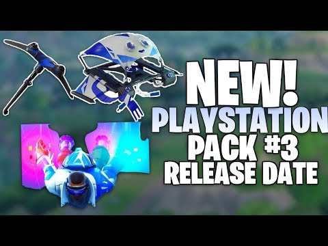 Fortnite NEW Playstation Skin Pack 3 Release Date - Pack Leaked Info