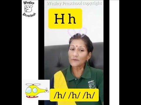 English Phonetics lessons Ff,Gg,Hh,Ii,Jj  by Wesley Preschool (F -G -H -I -J)