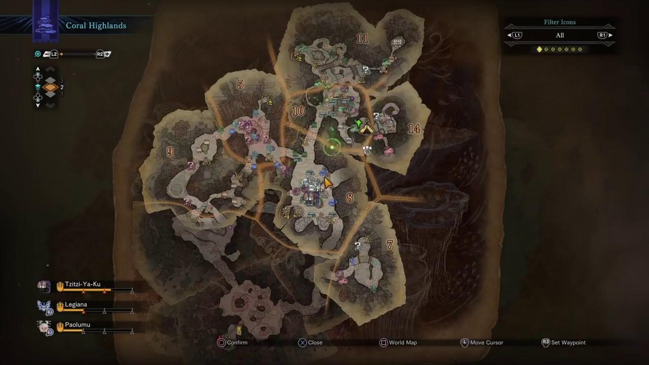 Monster Hunter World | Camps Location & Unlocking | Team BRG