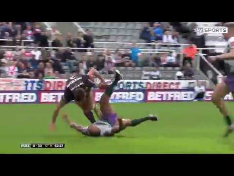 Tommy Makinson Try vs Hull (Magic Weekend 20/05/17)