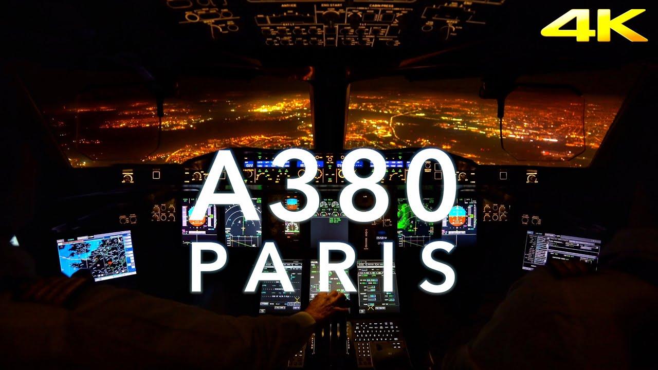 PARIS | A380 LANDING 4K EXTENDED