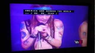 vh1s 100 greatest artists guns n roses