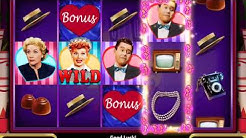 I LOVE LUCY Video Slot Game with a LUCY LOVES RICKY FREE SPIN BONUS