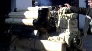 ZVEZDA M50 F-3 Dieselmotor Probelauf 2