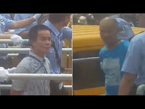 Drug dealers sent to execution in China in front of 10,000 people