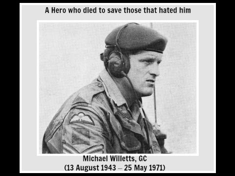 Sergeant Michael Willetts with lyrics
