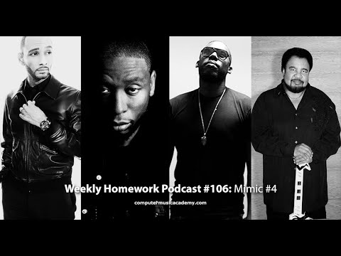 9th Wonder, Swizz Beatz, Flying Lotus & George Duke - Weekly Homework Podcast #106