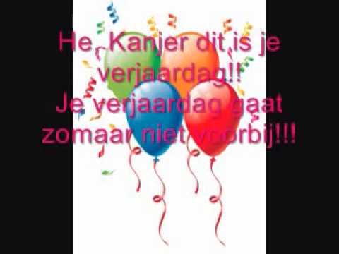 van harte gefeliciteerd liedje Dennis Dit is je verjaardag Hartelijk Gefeliciteerd   YouTube van harte gefeliciteerd liedje