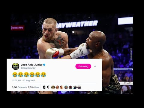 UFC Fighters React to Conor McGregor Losing to Floyd Mayweather in Boxing