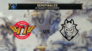 SK TELECOM T1 VS G2 ESPORTS | WORLDS 2019 | SEMIFINAL - MAPA 1 | League of Legends