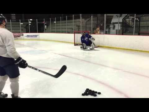 Matt Arnold Goalie Training session Video 1