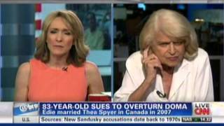 83 Year Old Edie Windsor Sues Government To Overturn DOMA After Receiving $363,000 Bill
